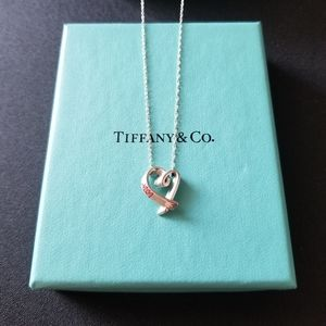 Tiffany & Co. Red Loving Heart Necklace